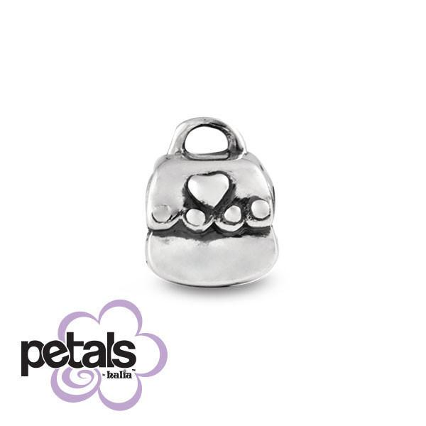My First Purse -  Petals Sterling Silver Charm
