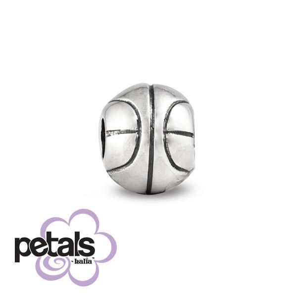 Three-Pointer -  Petals Sterling Silver Charm