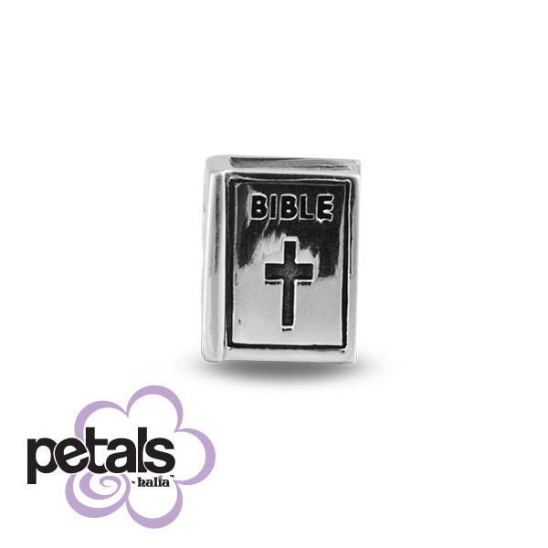 Daily Devotional -  Petals Sterling Silver Charm