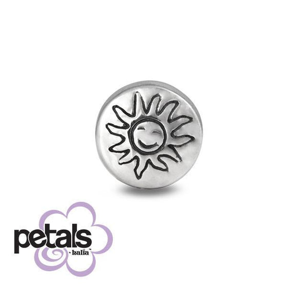 Shine Down on Me -  Petals Sterling Silver Charm
