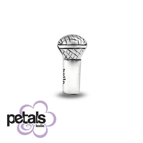 Sing it Loud -  Petals Sterling Silver Charm