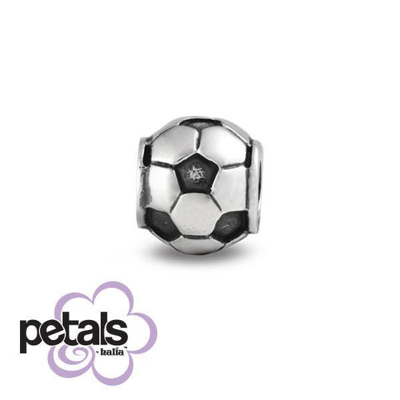 Soccer Star -  Petals Sterling Silver Charm