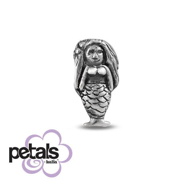 Littlest Mermaid -  Petals Sterling Silver Charm