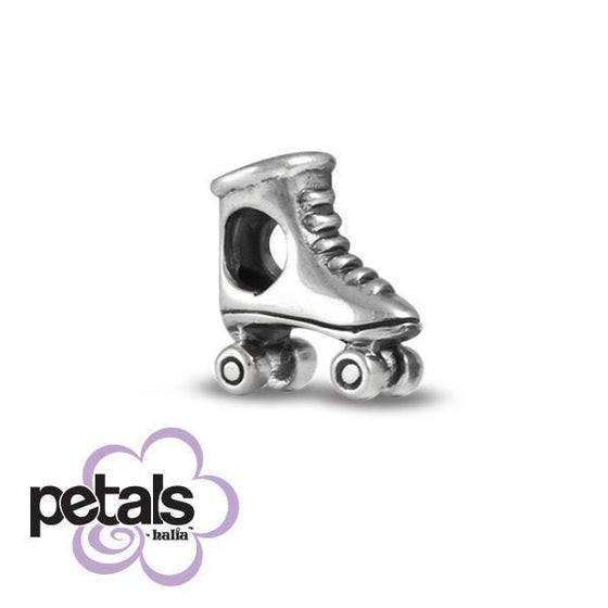 Great Skate -  Petals Sterling Silver Charm