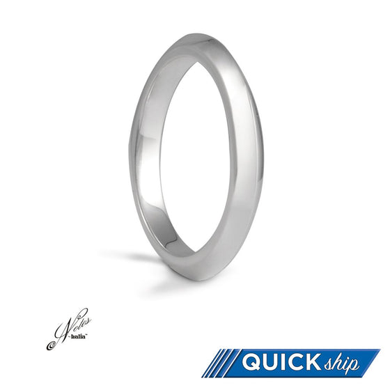 Amazingly Acute Notes By Halia Stacking Sterling Silver Ring - Quick Ship