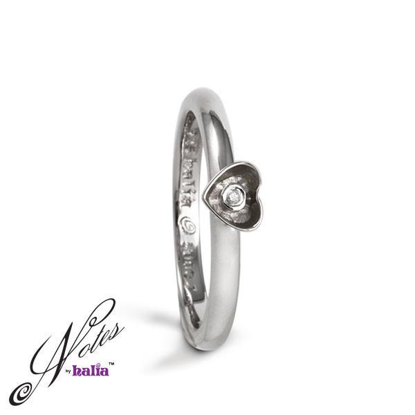 Hope Springs Diamond Stacking Ring - Metalsmiths Sterling™ Canada