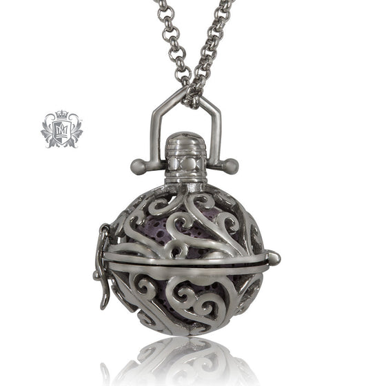 Perfect Scent Parisian Aromatherapy Locket - Antique/Violet
