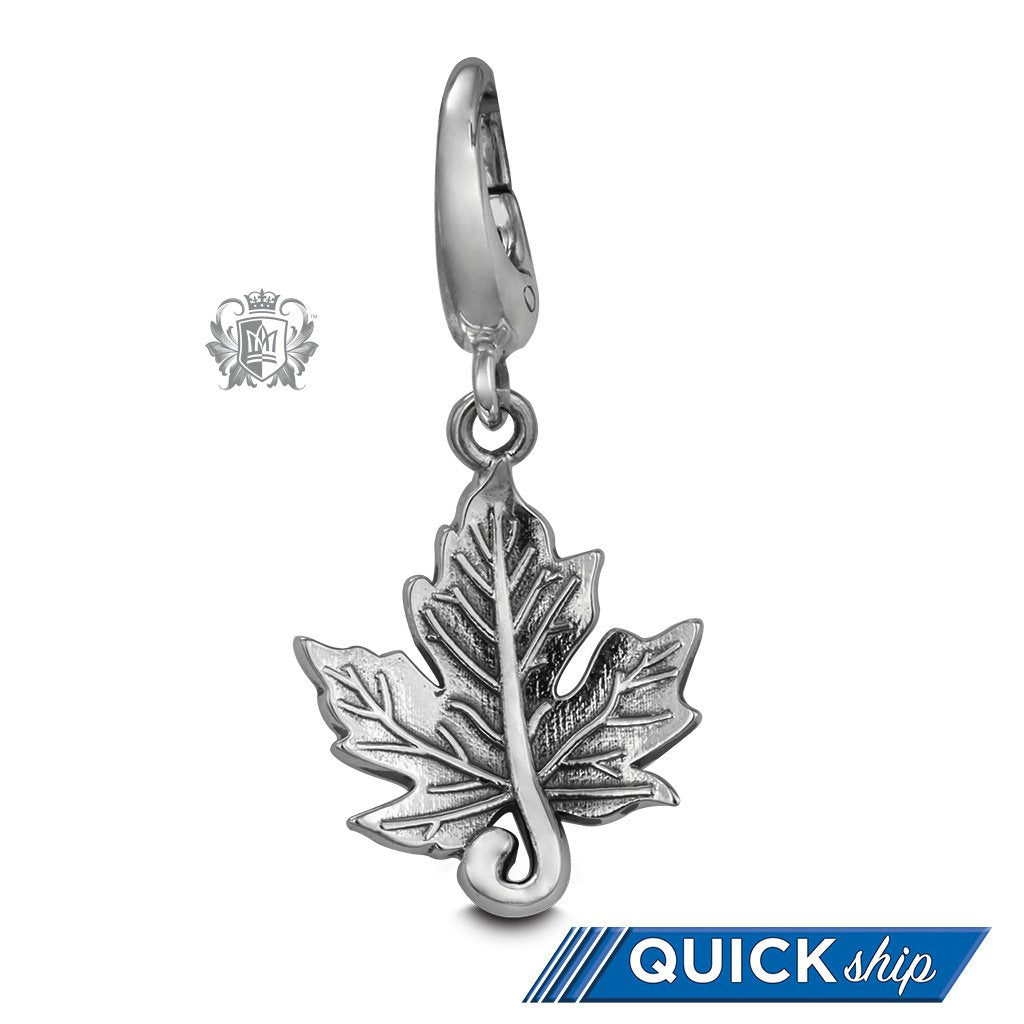 Quick Ship Maple Leaf Charm -  Charm