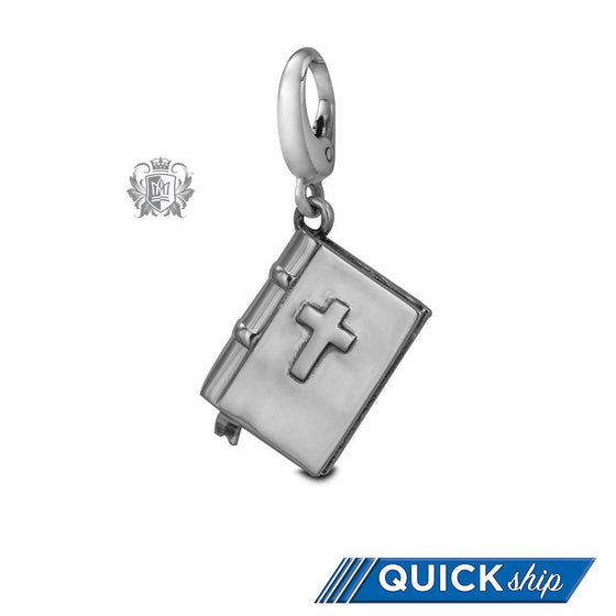 Quick Ship Bible Charm -  Charm
