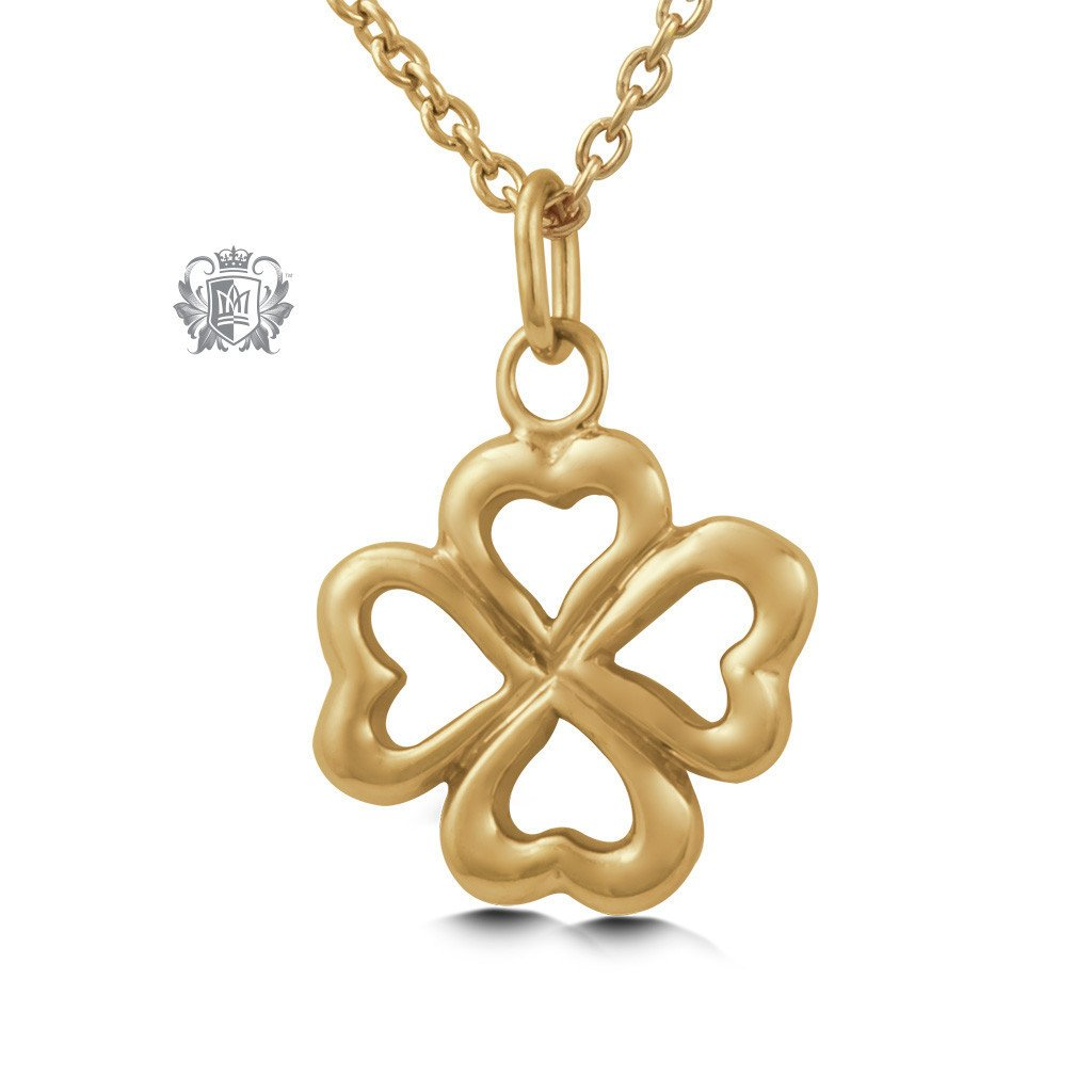 Gold Dipped Lucky Pendant (Special Edition) - Metalsmiths Sterling™ Canada