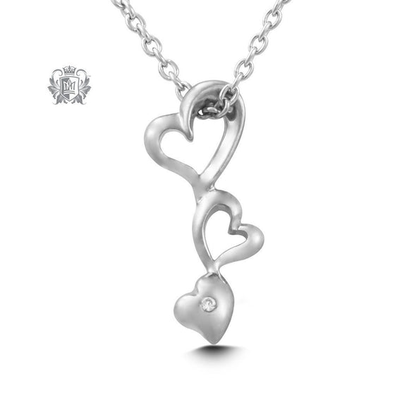 Hearts Pendant - Metalsmiths Sterling™ Canada