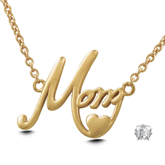 Gold Dipped Mom Pendant (Special Edition) -  Necklaces - 1