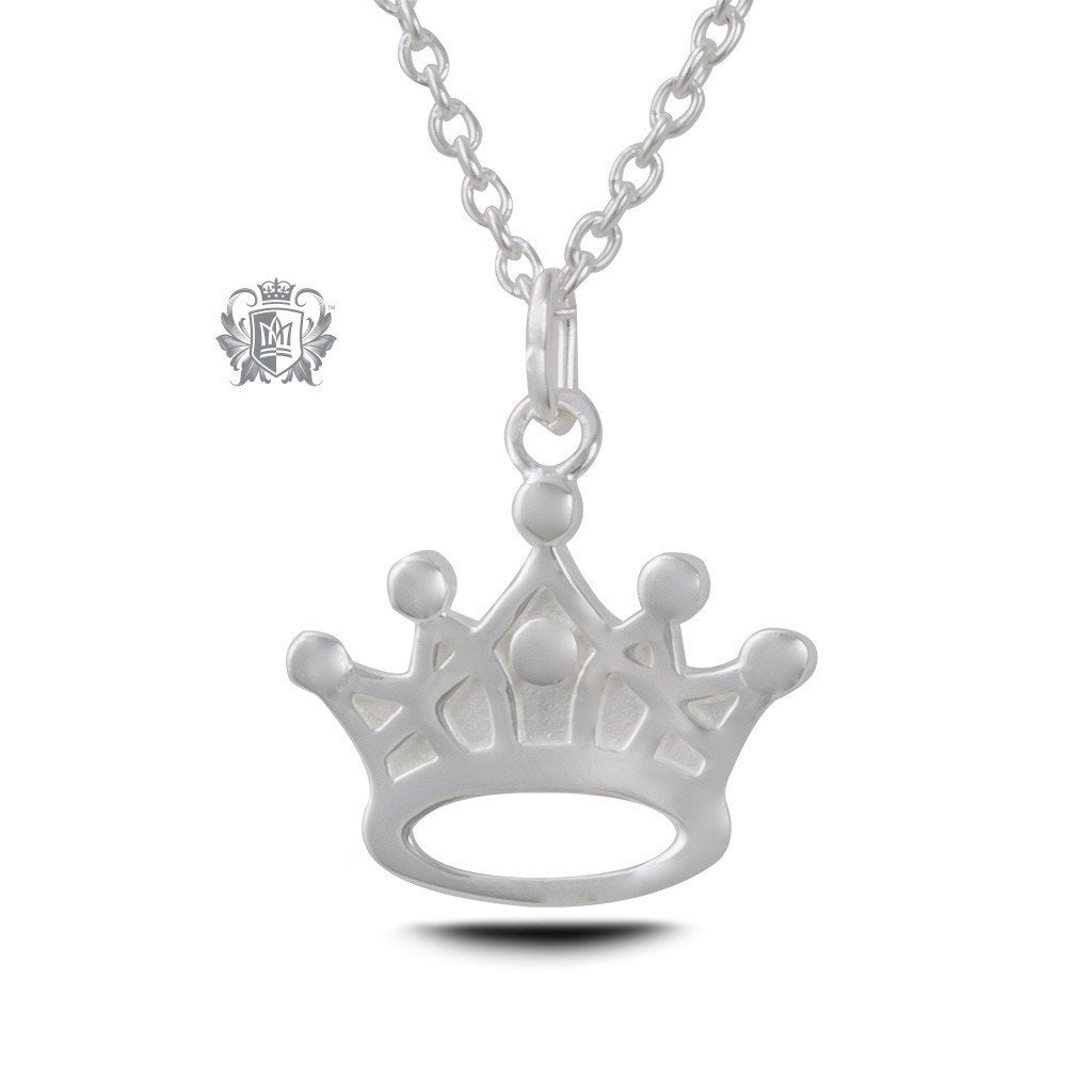 pendant rose gold crown products evermarker necklace