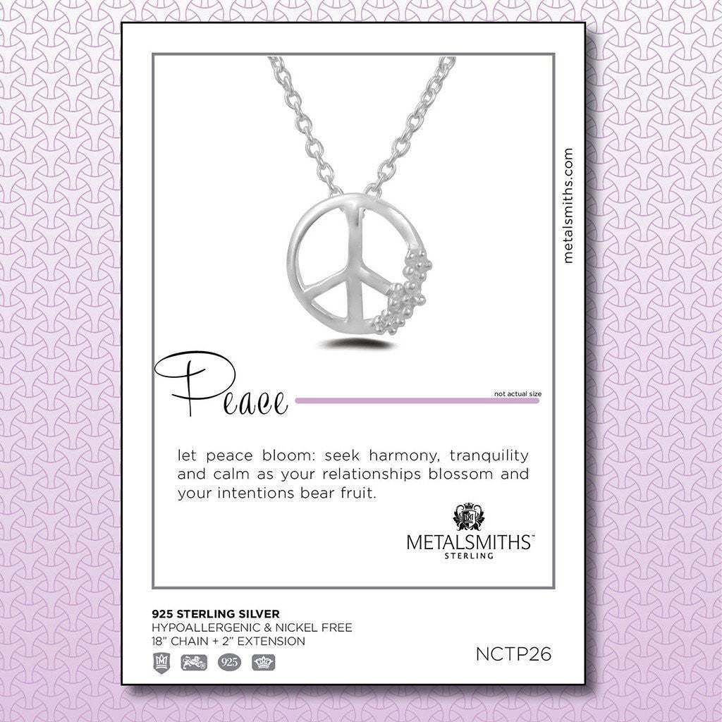 Rose Gold Dipped Peace Pendant (Special Edition) -  Necklaces - 2
