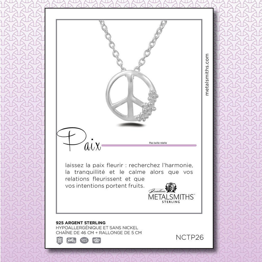 Rose Gold Dipped Peace Pendant (Special Edition) -  Necklaces - 4