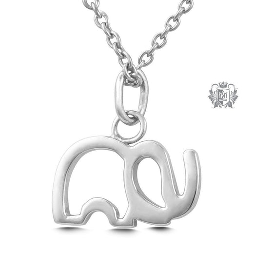 Elephant Pendant - Sterling silver Necklaces - 2