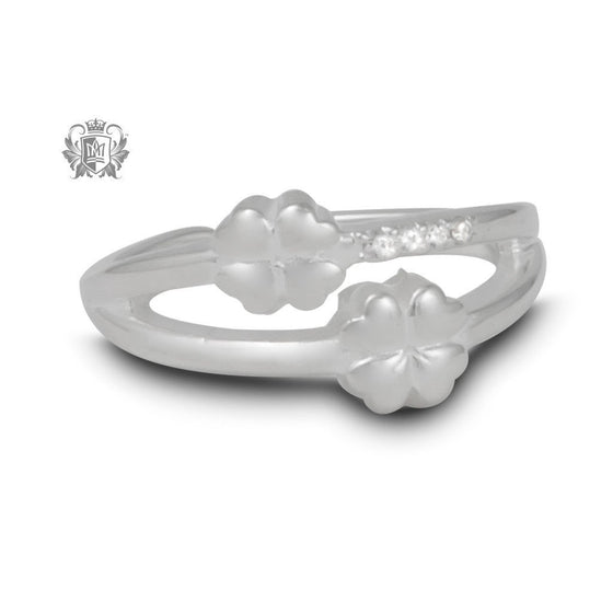 Double Lucky Toe Ring -  Body Jewelry