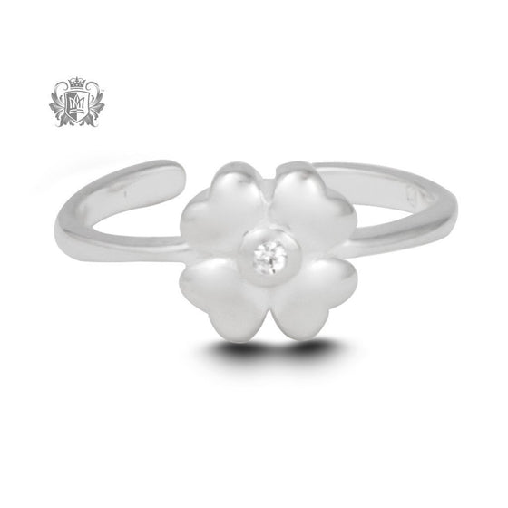 Lucky in Love Toe Ring -  Body Jewelry