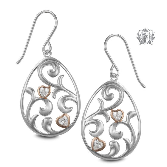 Love Grows Hanger Earrings - Metalsmiths Sterling™ Canada