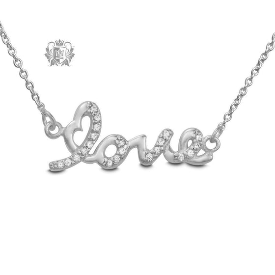 Love Cubic Necklace - Metalsmiths Sterling™ Canada