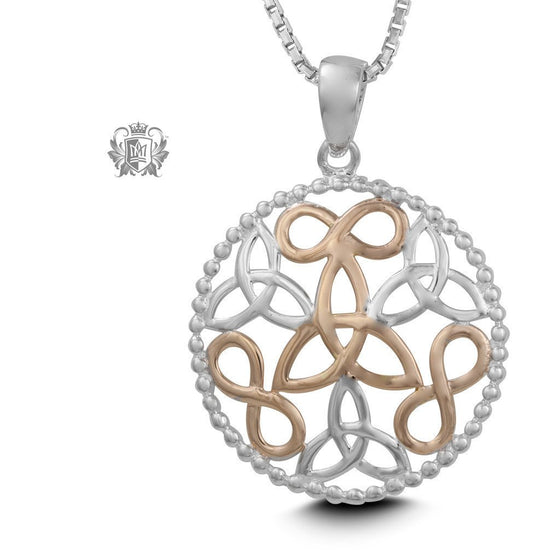 Infinite Celtic Knot Pendant - 18 inch chain Pendants - 1