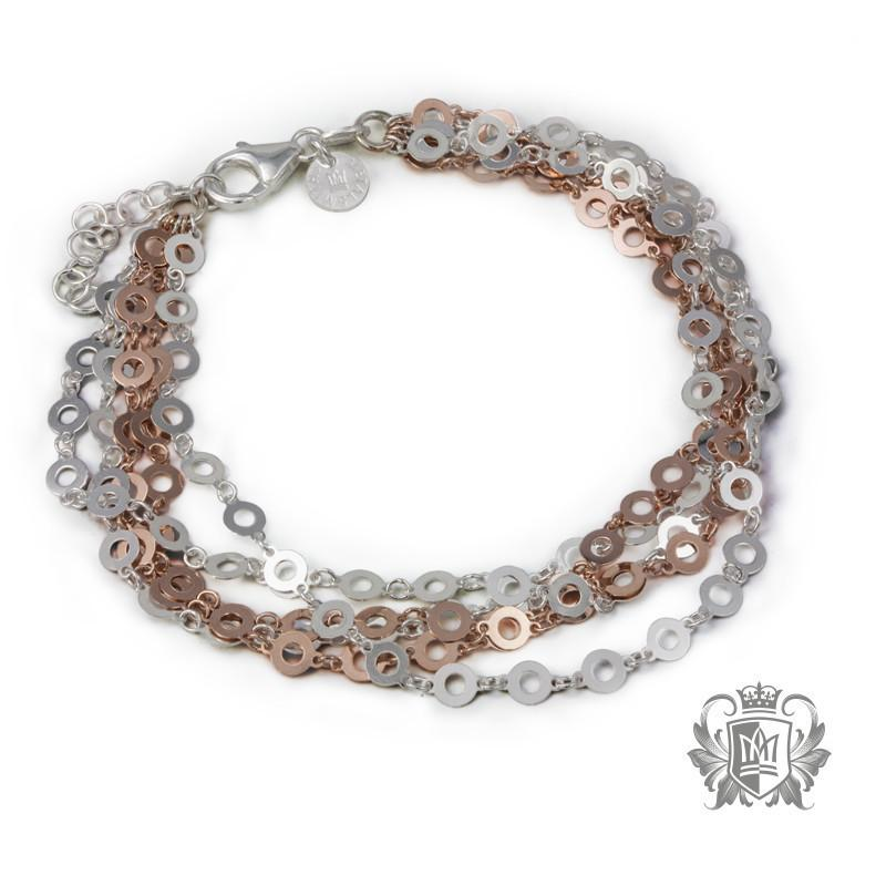 Open Orb Layered Bracelet - Metalsmiths Sterling™ Canada