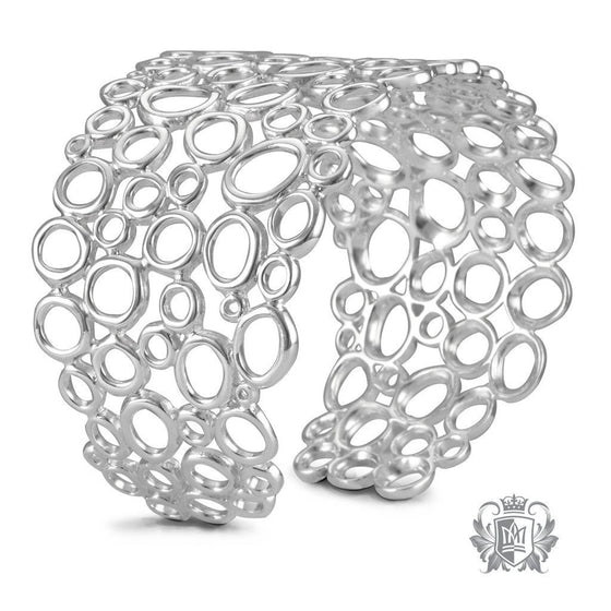 Water Drop Bangle - Metalsmiths Sterling™ Canada