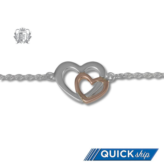 Love's Embrace Anklet - Metalsmiths Sterling™ Canada