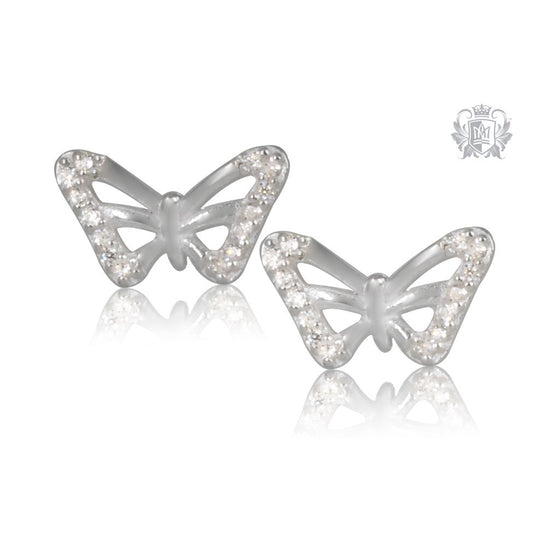Butterfly Cubic Studs