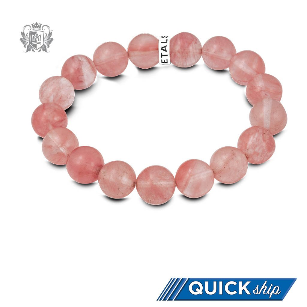 Quick Ship Rose Quartz Friendship Bracelet