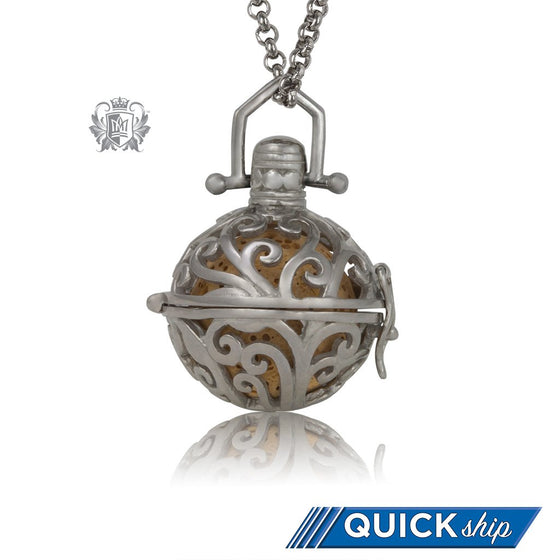 Perfect Scent Parisian Aromatherapy Locket - Metalsmiths Sterling™ US