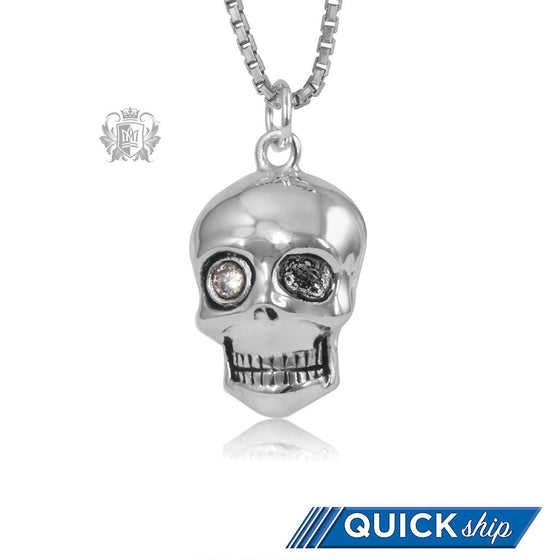 Skull Pendant with Cubic Quick Shp