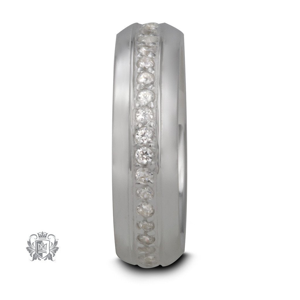 Eternity Band - Metalsmiths Sterling™ Canada