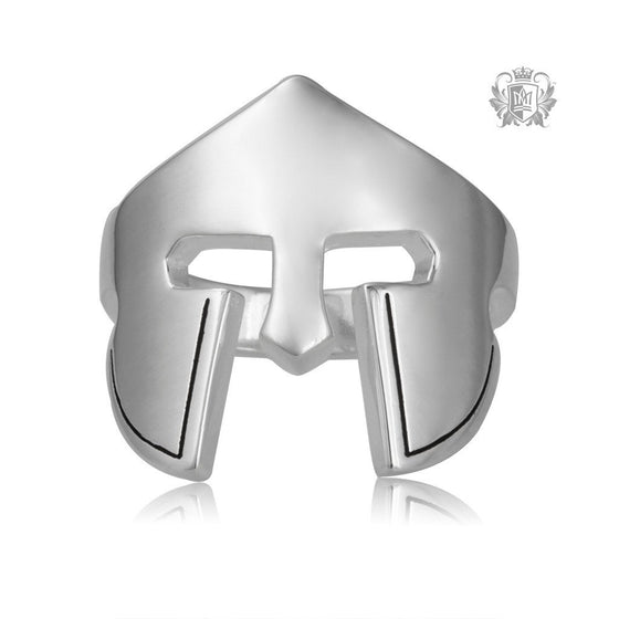 Metalsmiths Sterling Silver Chivalrous Protector Ring - front