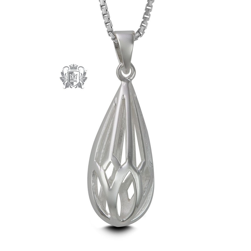 Openwork Drop Pendant - Metalsmiths Sterling™ Canada