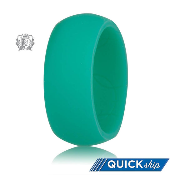 Quick Ship Turquoise Silicone Active Band