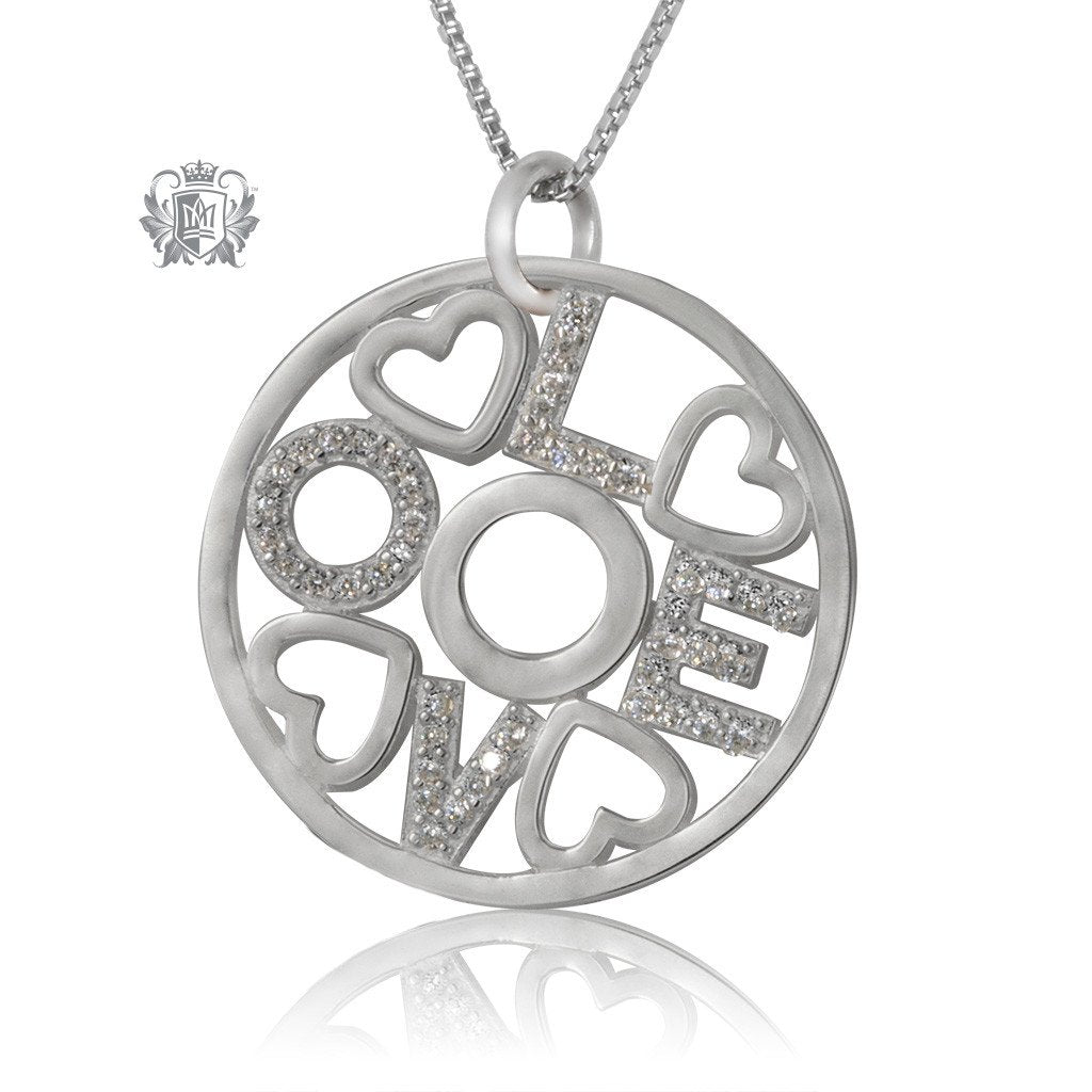 Love Sparkling Pendant - Metalsmiths Sterling™ Canada