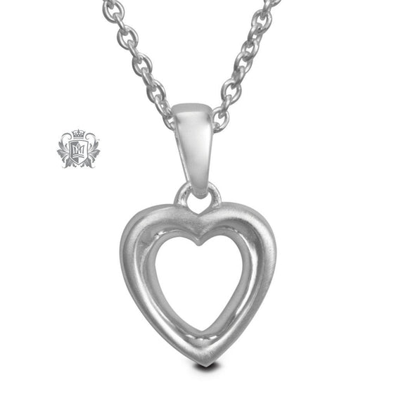Dual Texture Heart Pendant - Metalsmiths Sterling™ Canada