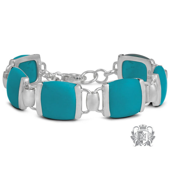 Cushion Set Bracelet - Metalsmiths Sterling™ Canada