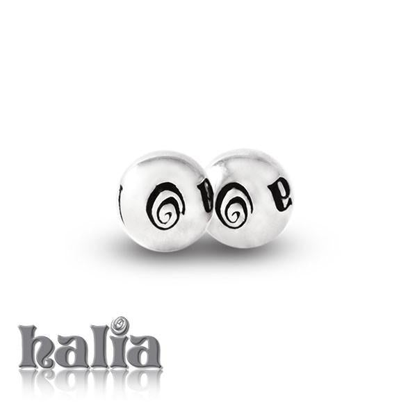 Halia Bangle Cuffballs - Sterling Silver Cuffballs Bracelets - 1