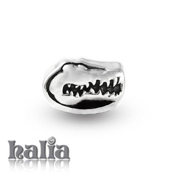 Alligator -  Sterling Silver Bead