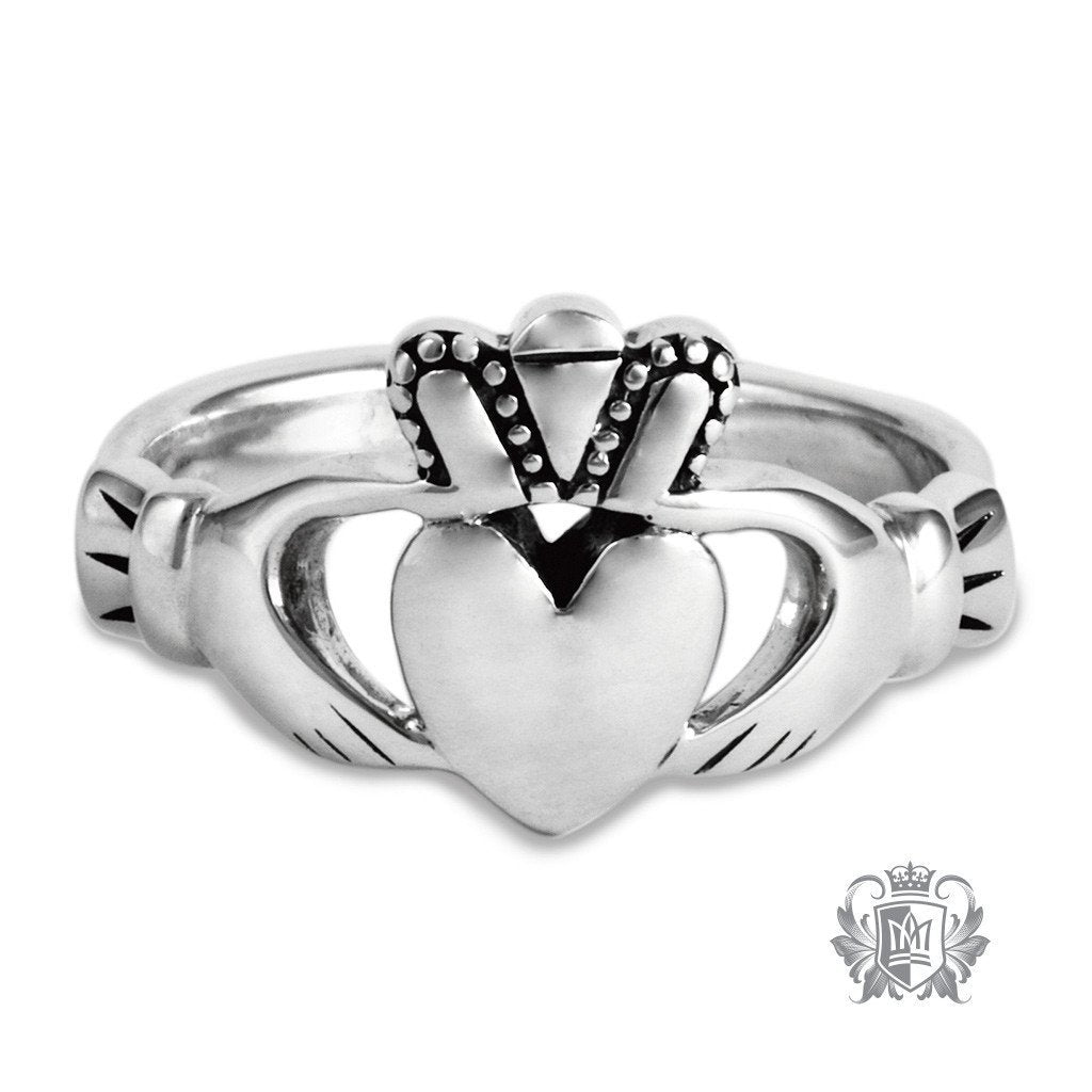 Large Traditional Claddagh Ring - Metalsmiths Sterling™ Canada
