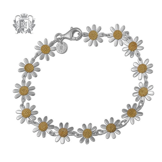 Daisy Link Bracelet - Metalsmiths Sterling™ Canada