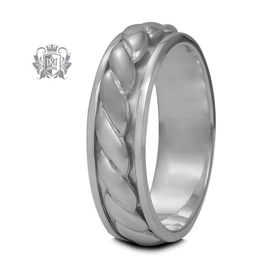 Braided Spinner Ring - Metalsmiths Sterling™ Canada