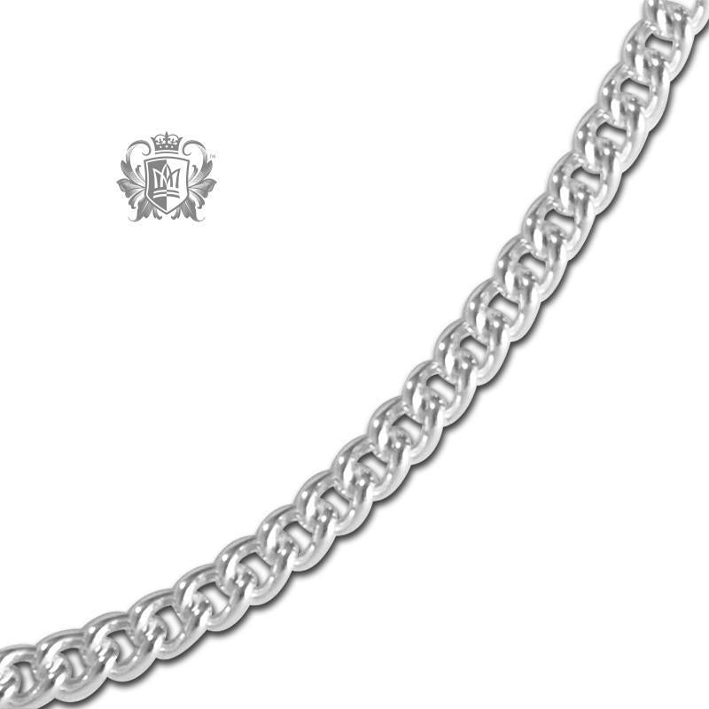 Round Link Curb Chain (80 gauge) - Metalsmiths Sterling™ Canada