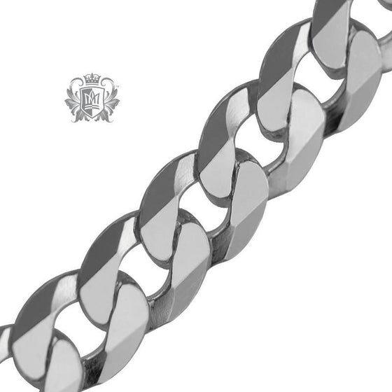 Curb Flat Necklace (160 Gauge) - Metalsmiths Sterling™ Canada