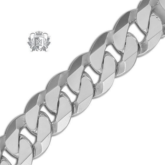 Extra Flat Curb Chain (200 Gauge) - Metalsmiths Sterling™ Canada