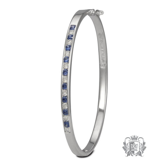 Clasped Eternity Bangle - Metalsmiths Sterling™ Canada
