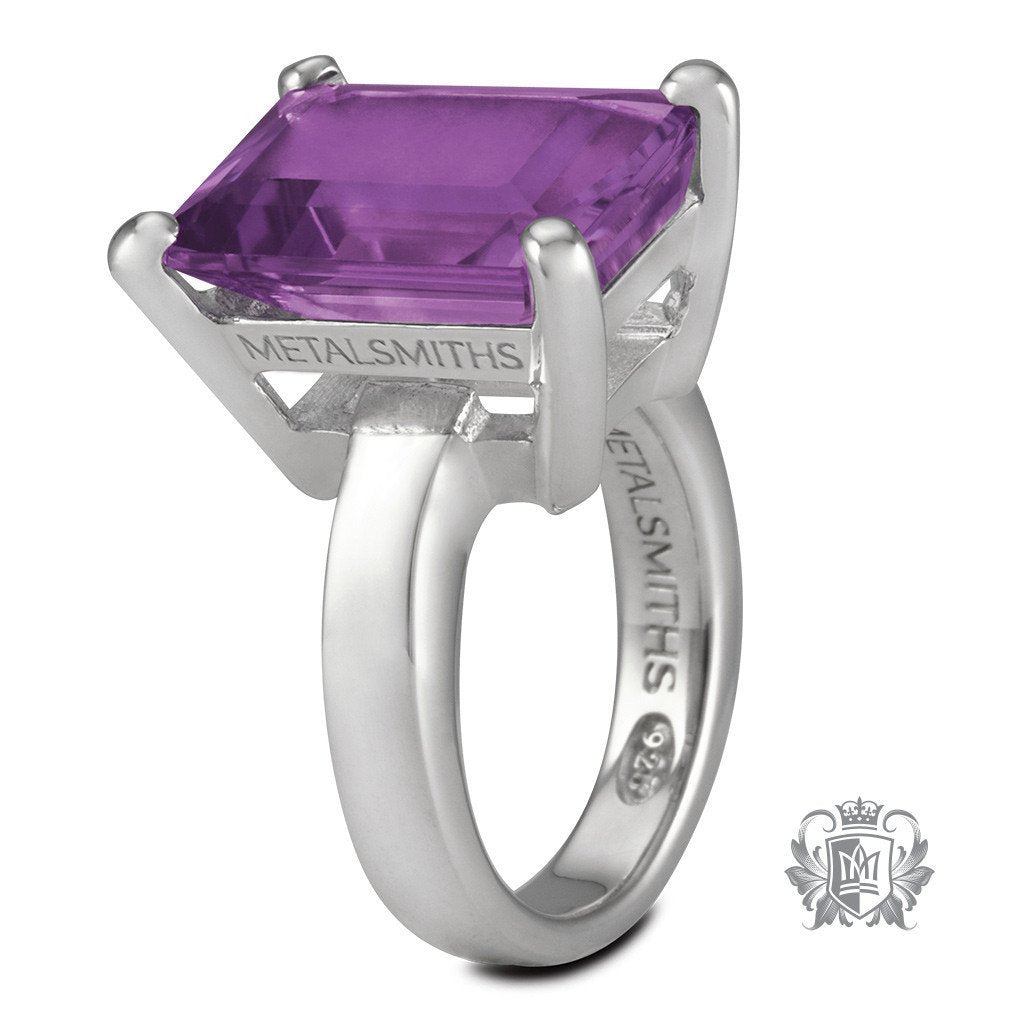 Lady of the Manor Ring - Amethyst / Size 6 Gemstone RIngs - 2