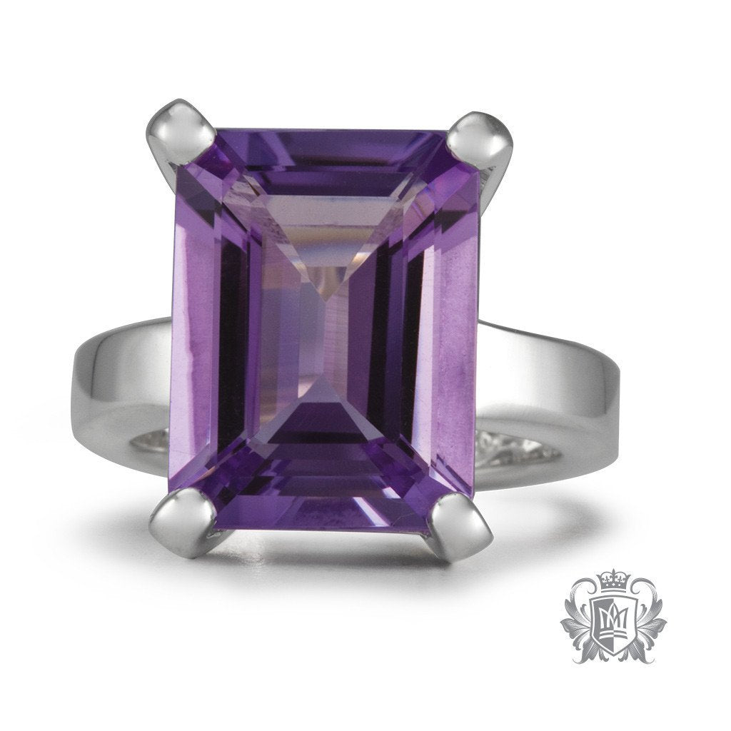 Lady of the Manor Ring -  Gemstone RIngs - 4